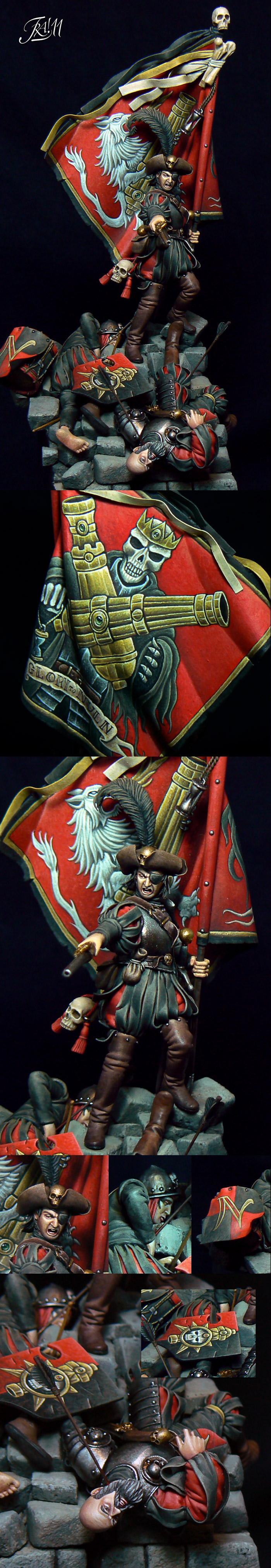 Last Stand of Nuln (Gold Diorami - italian GD 2011) Img.2 (details)