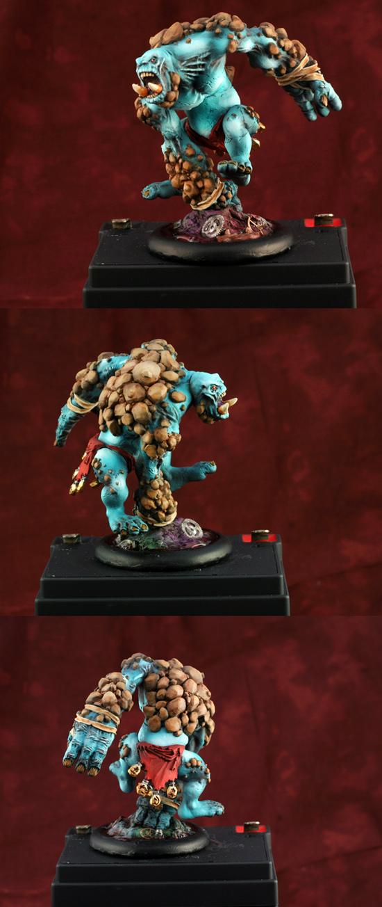 Trollbloods Earthborn Dire Troll Heavy Warbeast