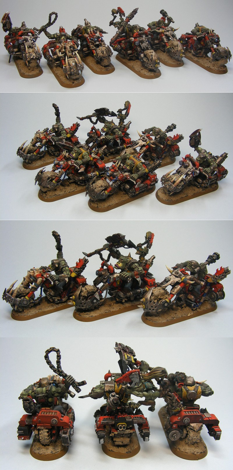 Orc Warbikers team