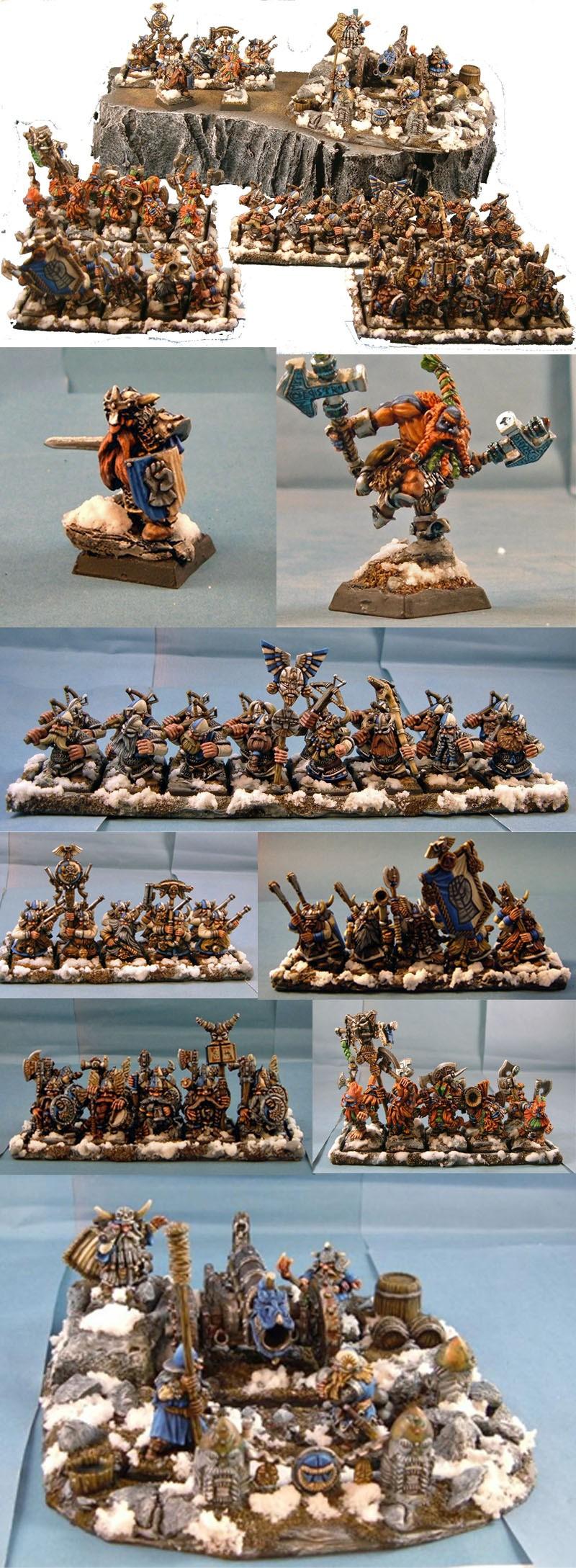 1000 Point Dwarf Army