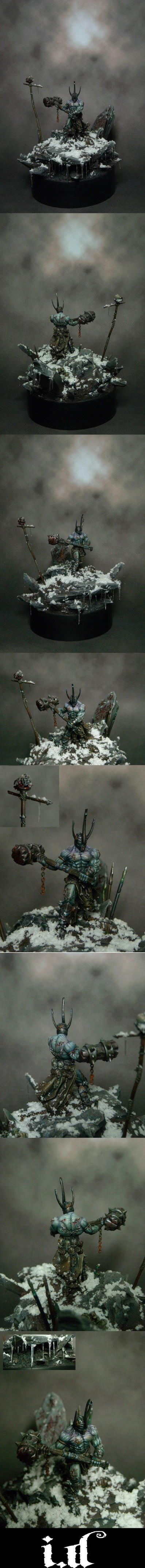 Ulric the Defiler.  'Banelords'