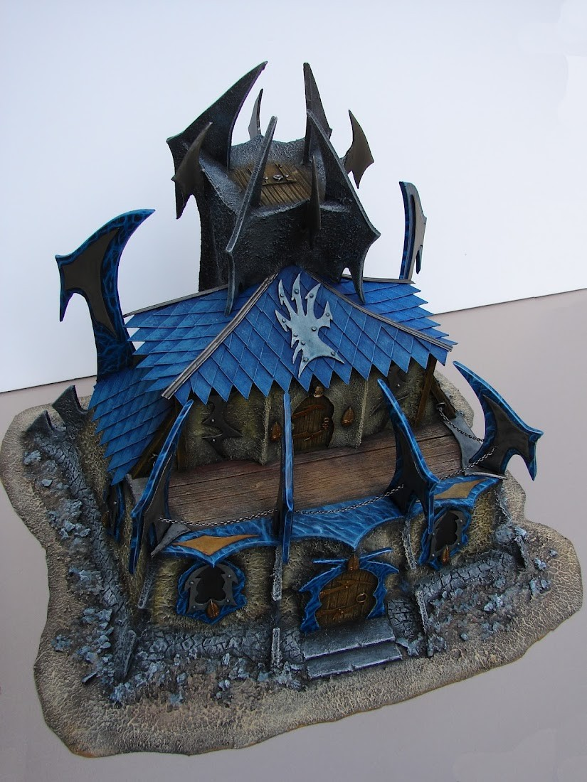 WHB Dark elves Mansion/Manoir elfe noir