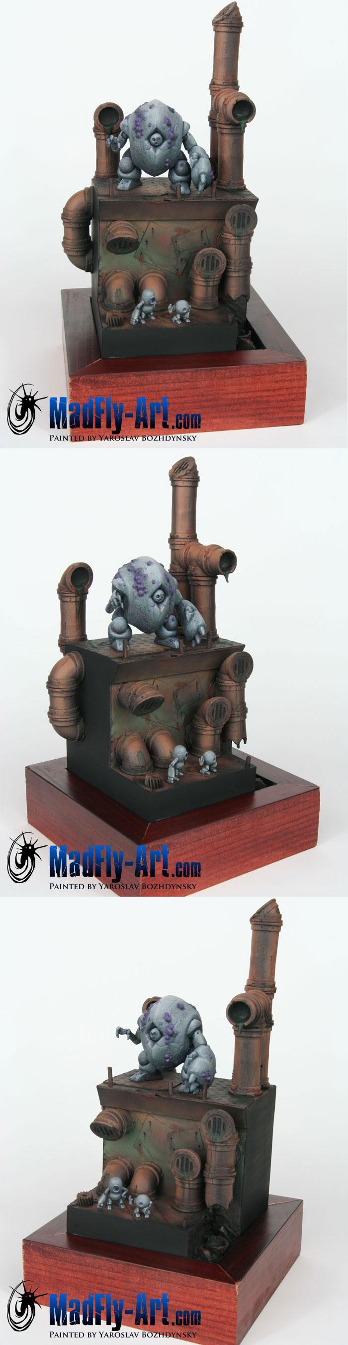 Karabidae & Krapbots Diorama
