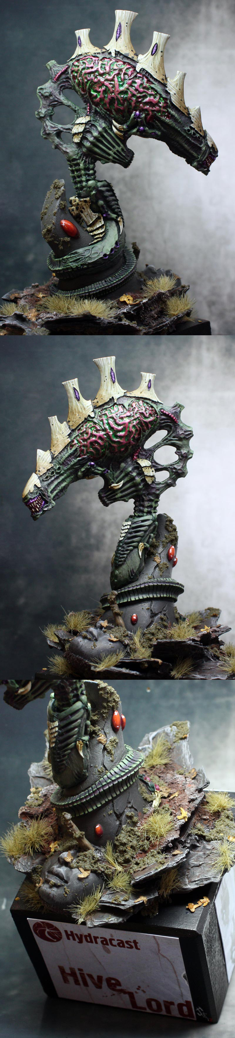 Tyranid Doom of Malan'tai Hydracast Hive Overlord