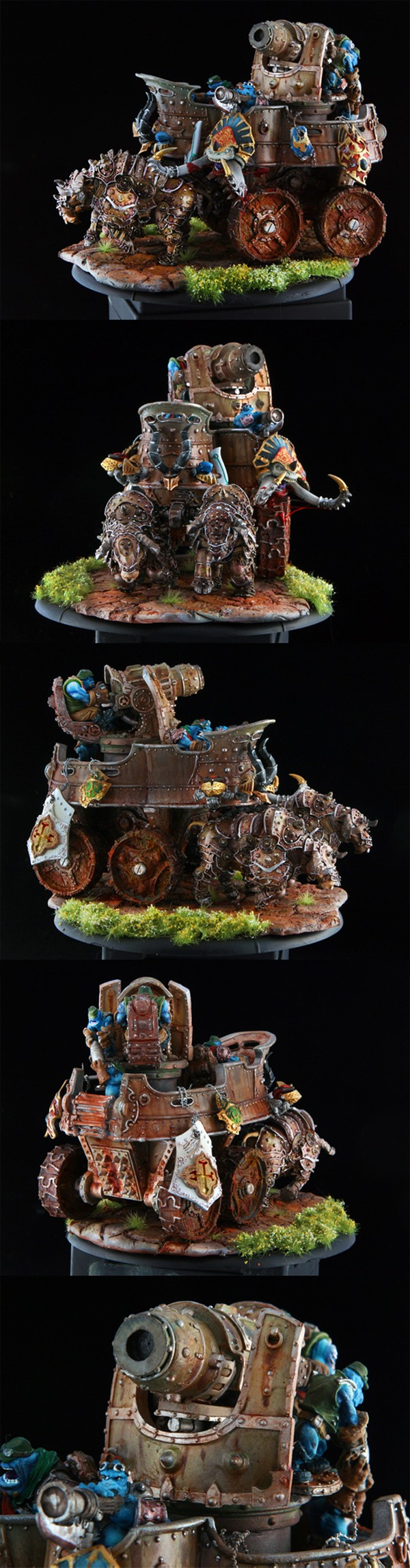 Trollbloods War Wagon Battle Engine