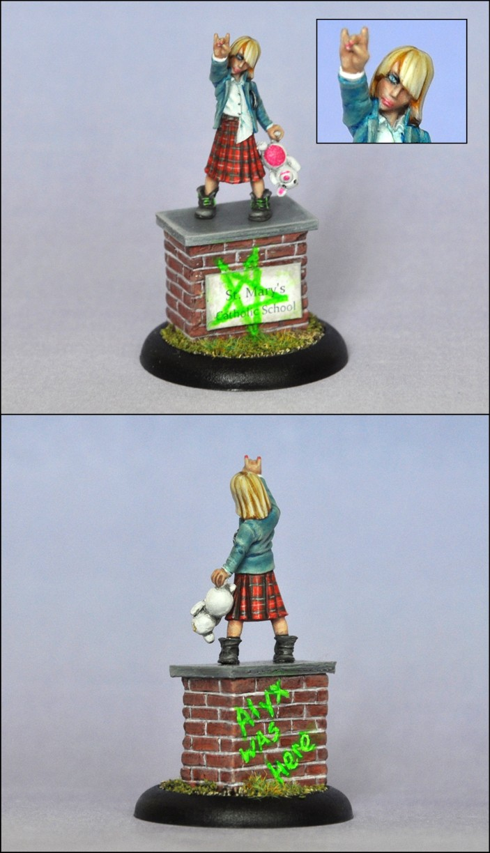 Hasslefree Miniatures - Alyx, Female Youth