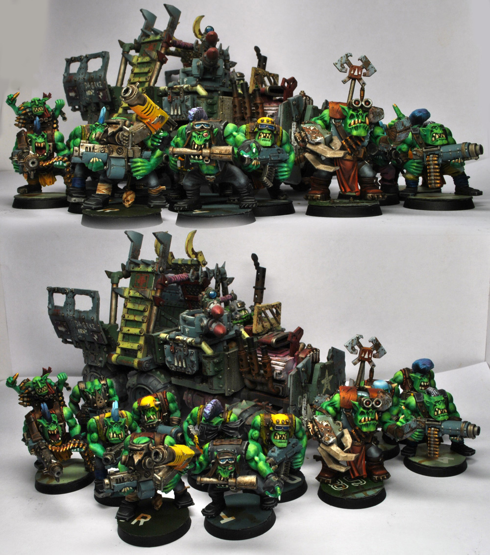 Ork Trukk Boyz By Under9