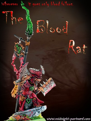 Skaven Warlord from The Islands of Blood - The Blood Rat