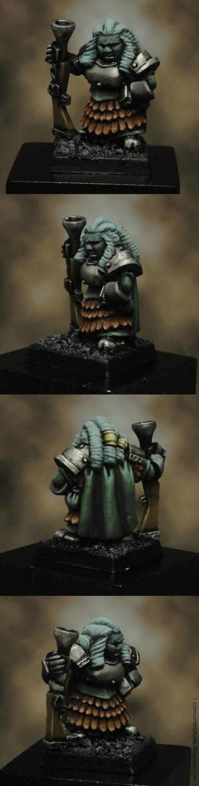 Grulka Blackhand (Titan Wargames)