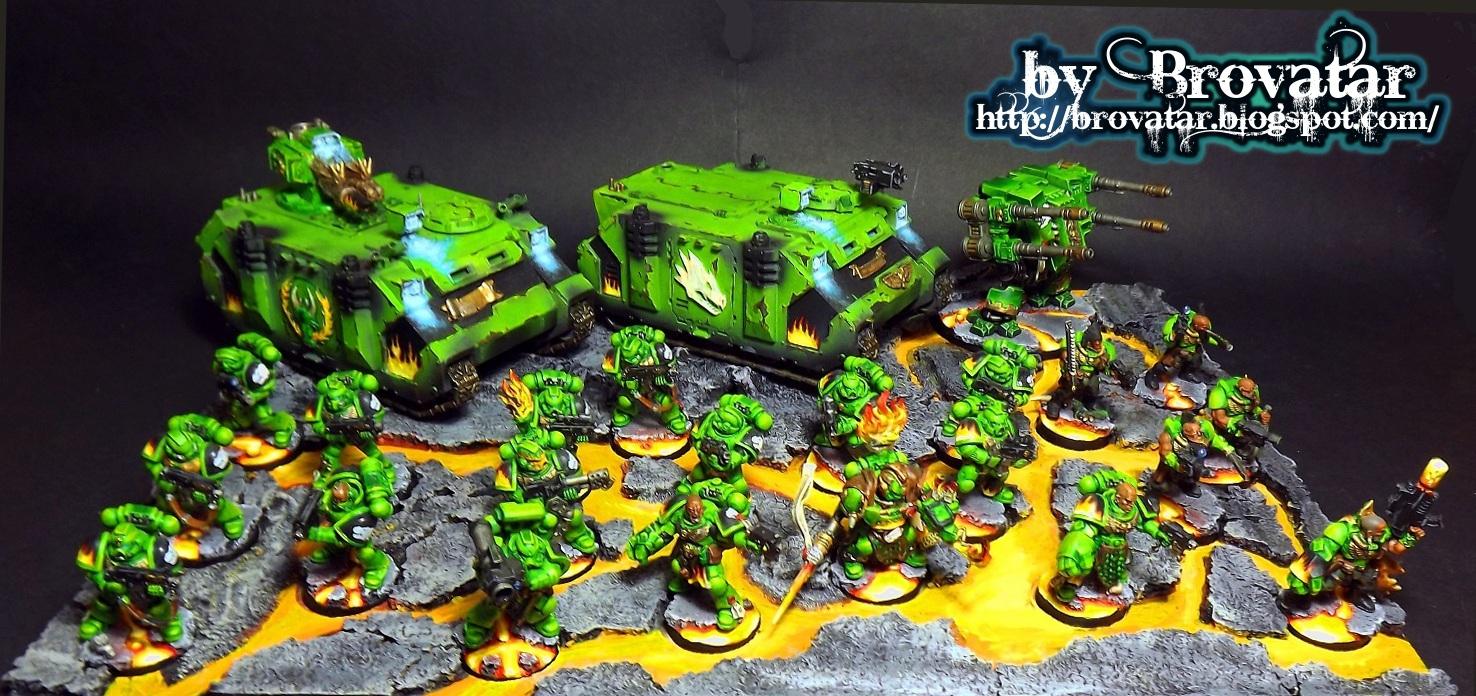 Salamander Chapter Army