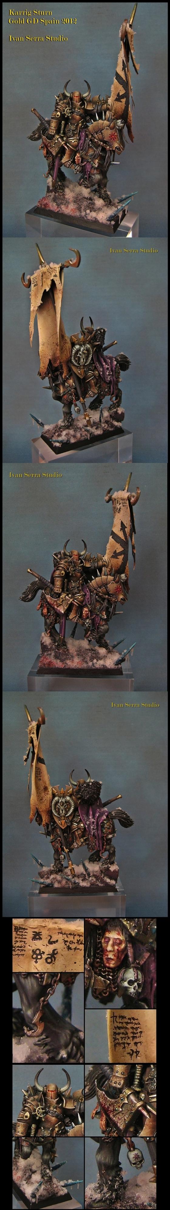 Karrig Sturn, chaos warrior