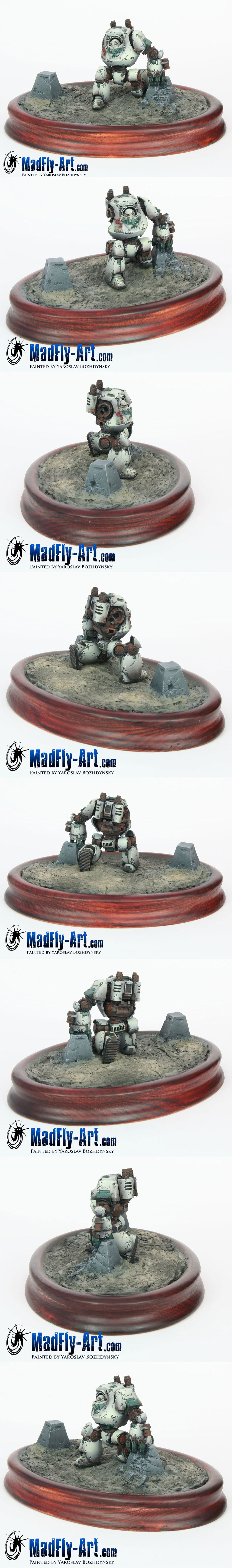 Death Guard Contemptor Dreadnought