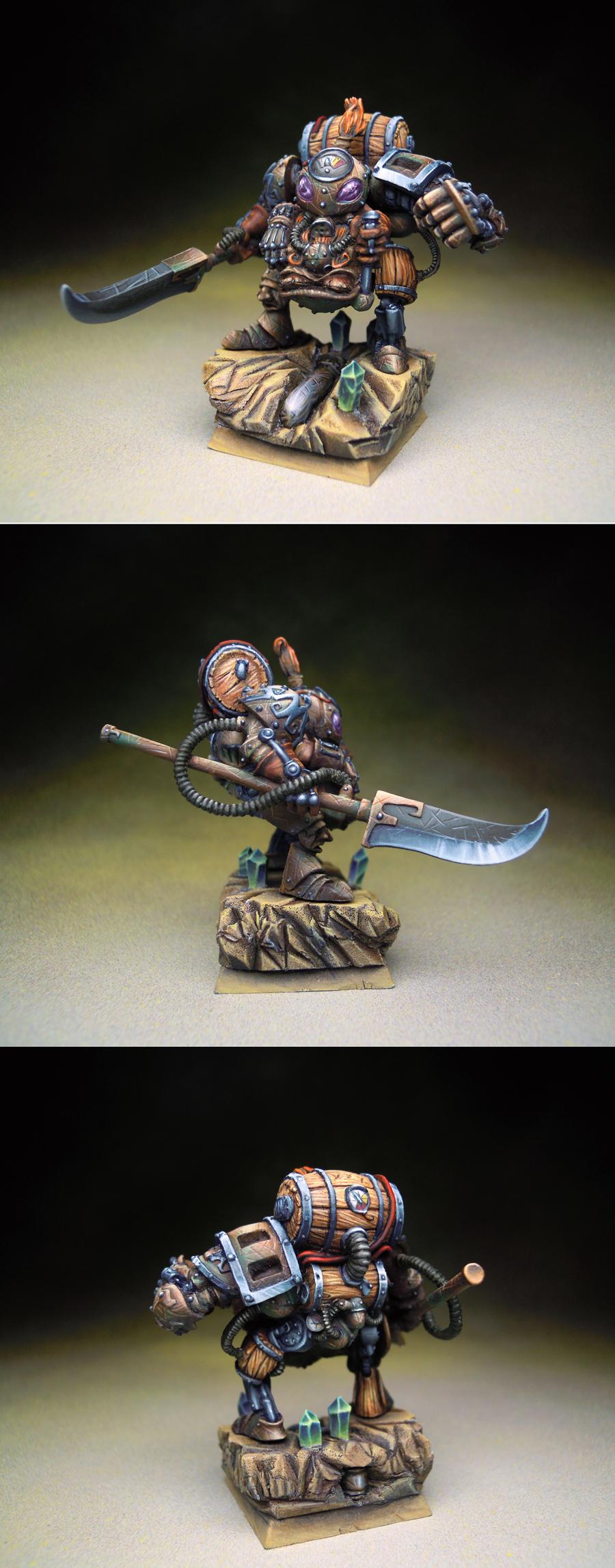 Fenggar, Fist of Bronze