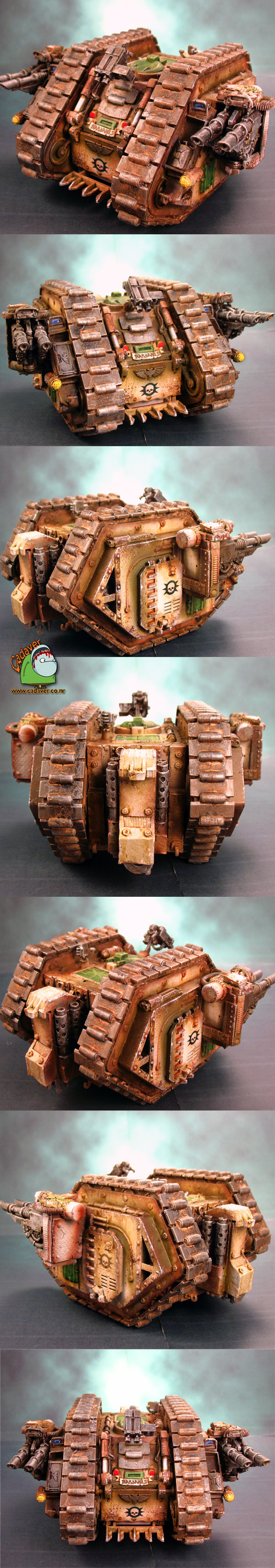 Pre Heresy Death Guard Mk1 Land Raider Barbarus