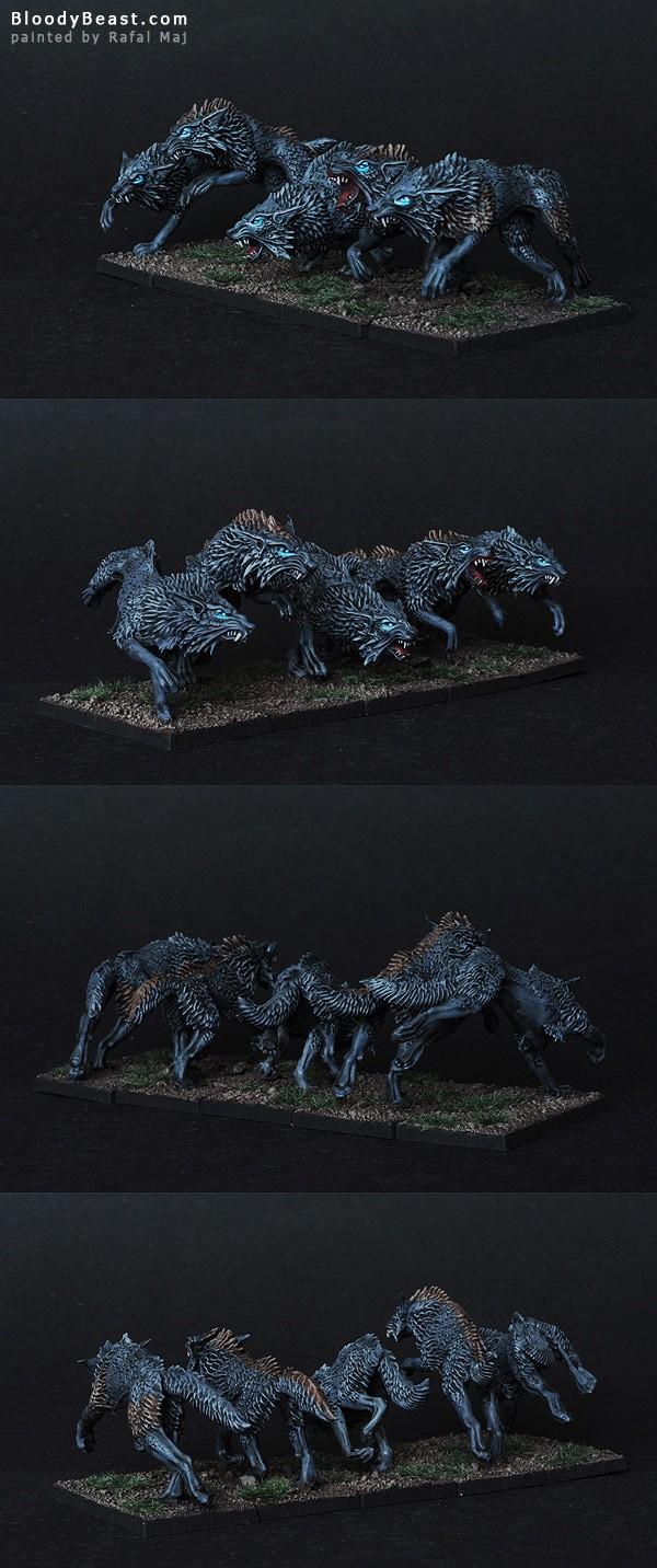 Dire Wolves Closeups