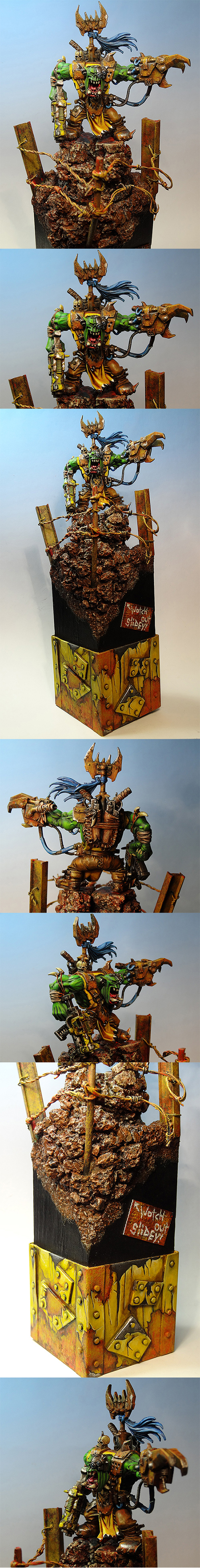Ork Warboss GD UK 2012 Finalist