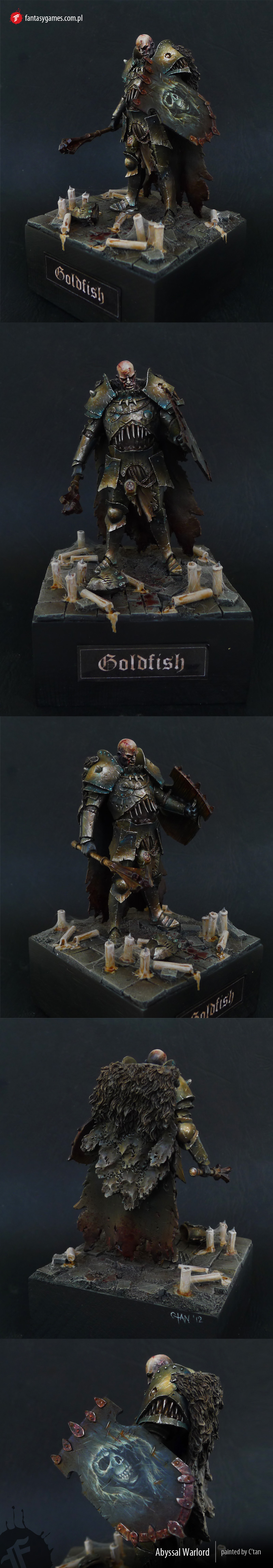 Abyssal Warlord (GOLD at Hussar 2012)