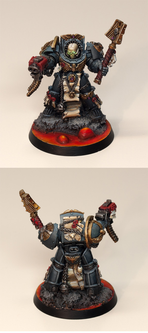 Space Marine Chaplain in Terminator Armour