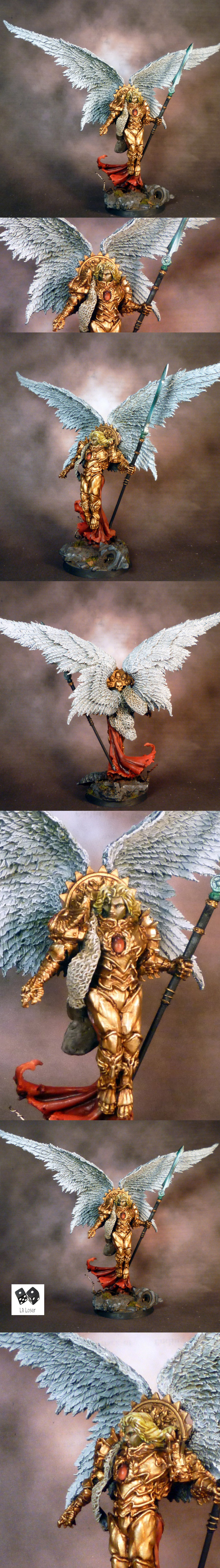 Sanguinius Lord Primarch of the Blood Angels