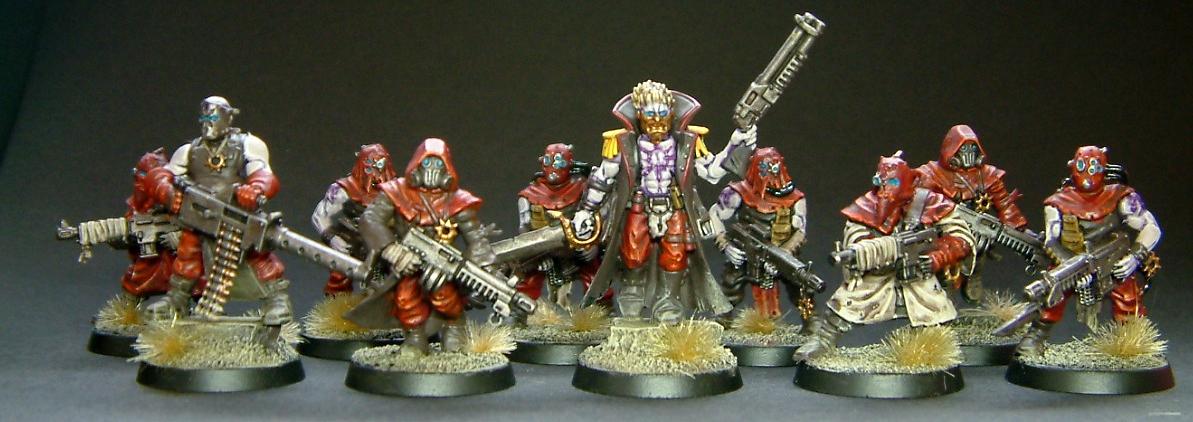 Warhammer 40k Dark Vengeance Sect Tetchvar Chaos Cultists