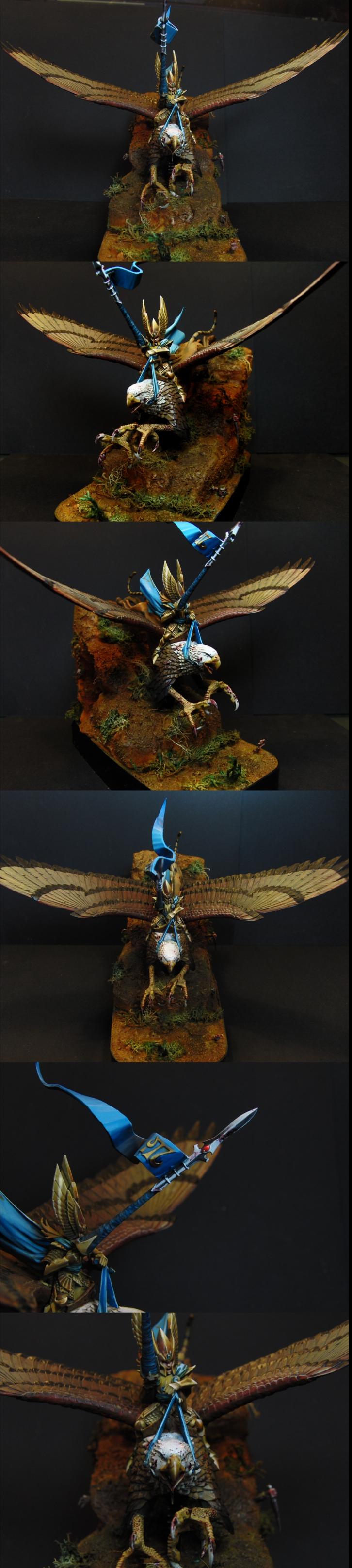 High Elf Prince Althran on Griffin
