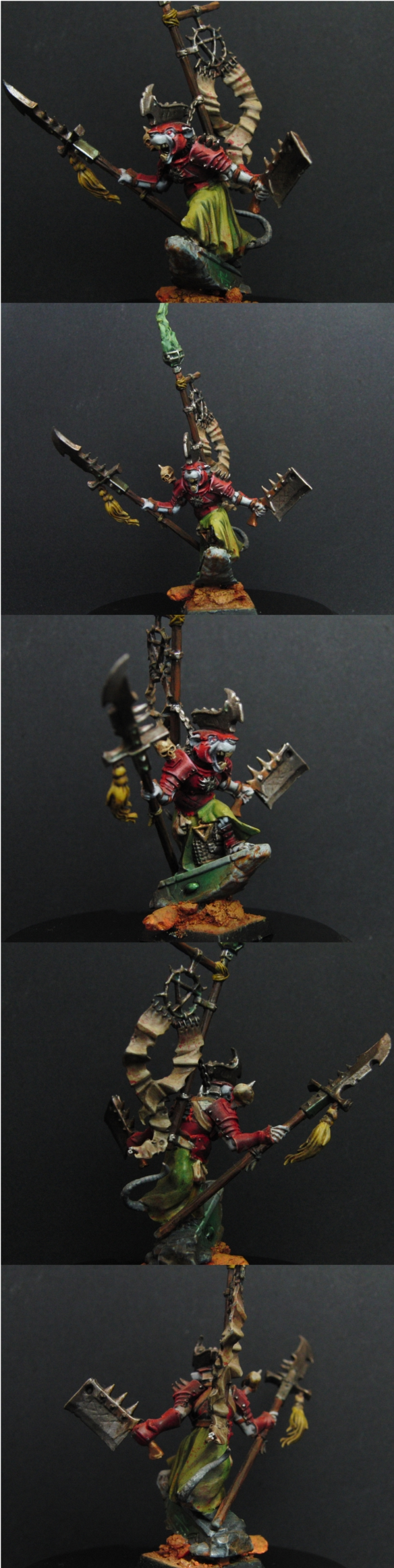 Skaven Warlord (new photos)