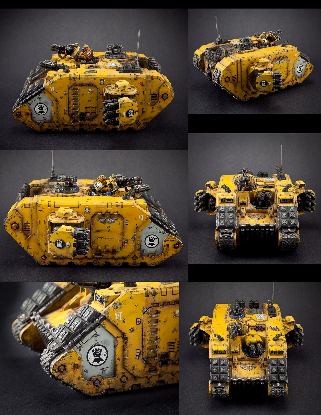 Imperial Fists Landraider