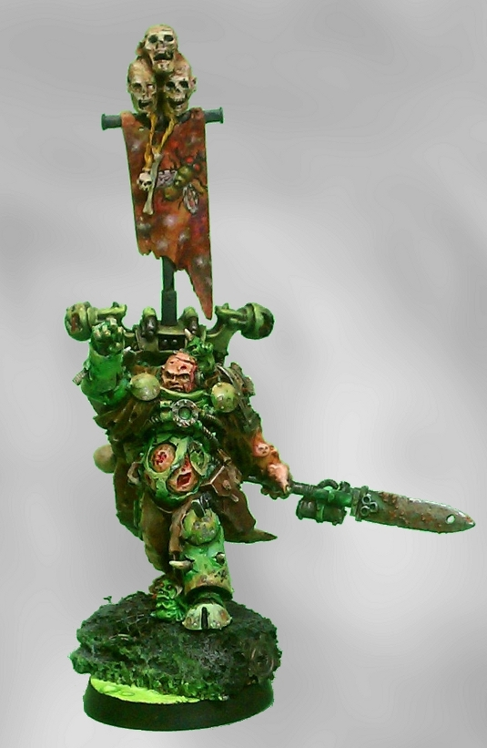 Forge World Nurgle Sorcerer of Chaos