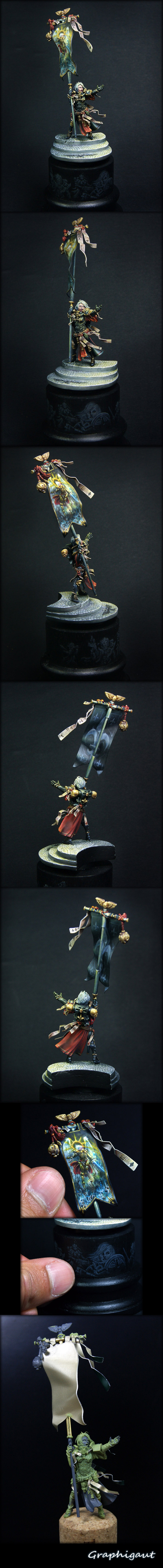Battle Sister, Silver in Open at the French Games Day (part 1)