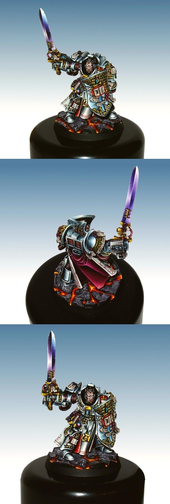 Kaldor Draigo, Grand Master of Gray Knights