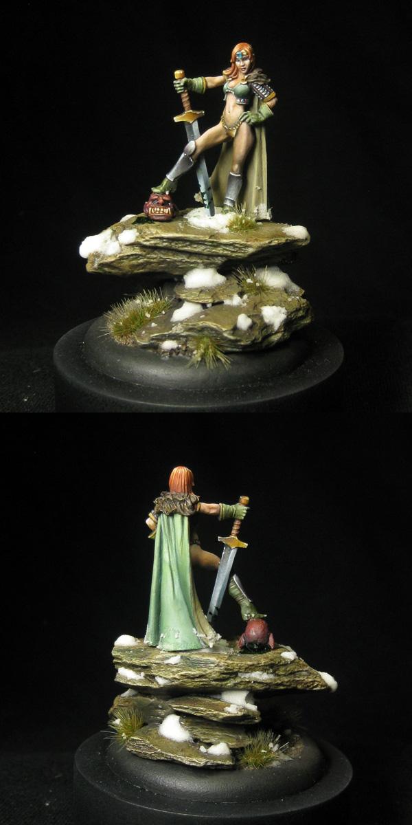 Sasha - Frothers' Charity Miniature