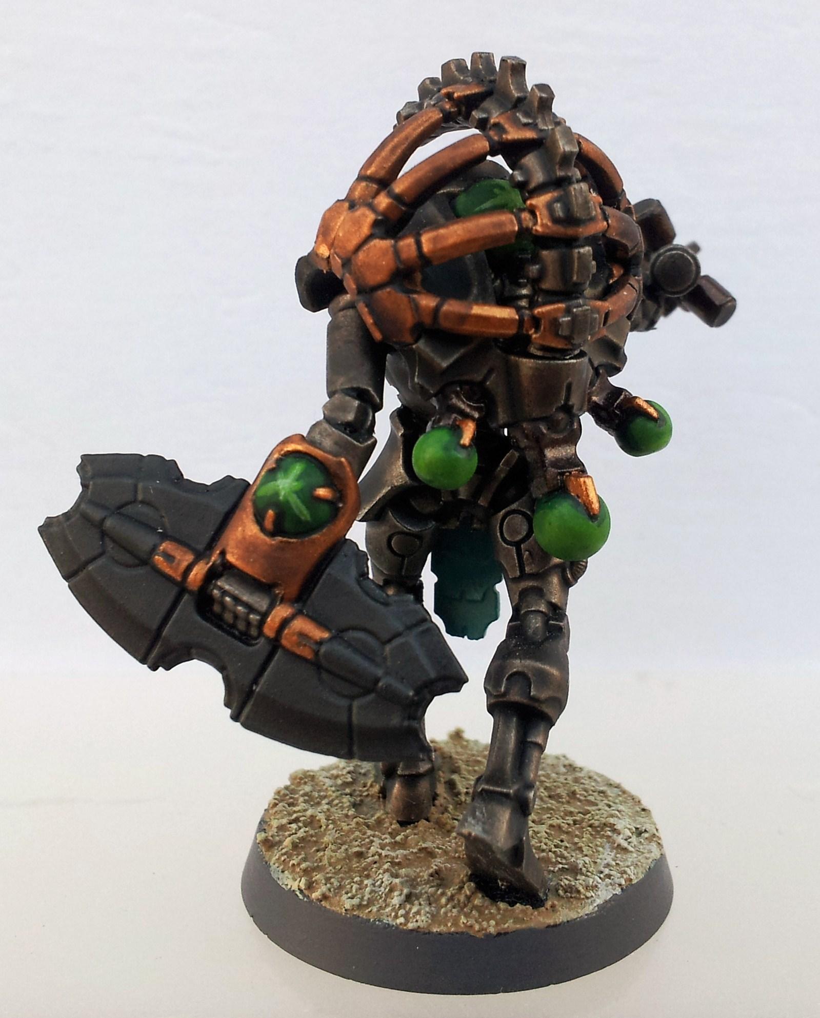 Necron Army Work in Progress pics: Triarch Praetorian Snake