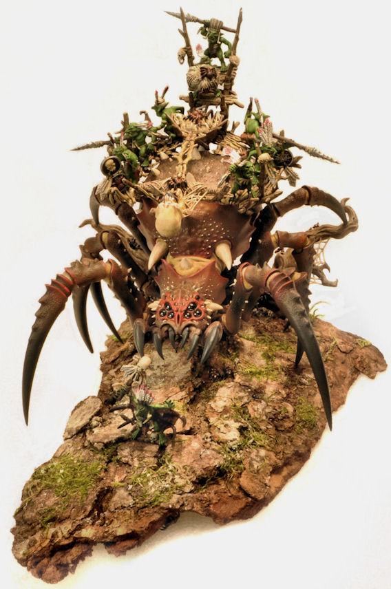 CoolMiniOrNot - Arachnarok Spider by Hannibal Lecter