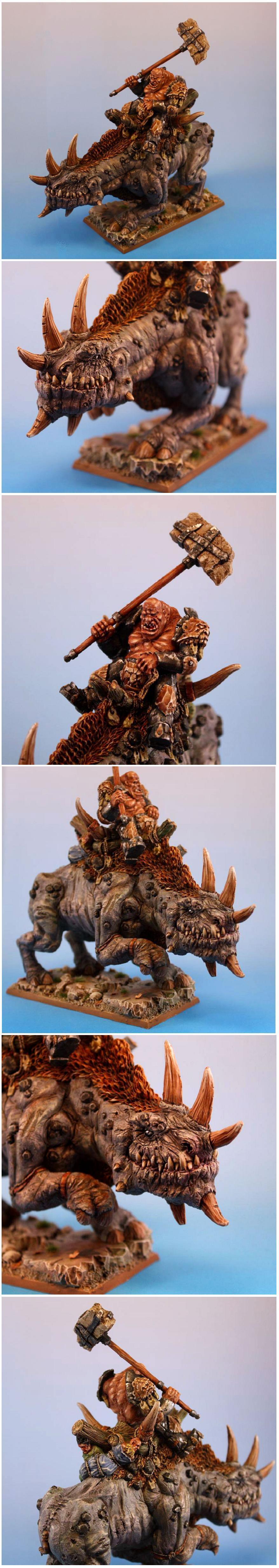 Ogre War Rhino Rider