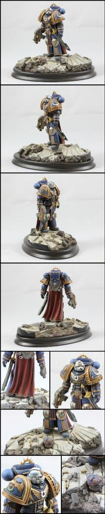 1/16th scale Space marine