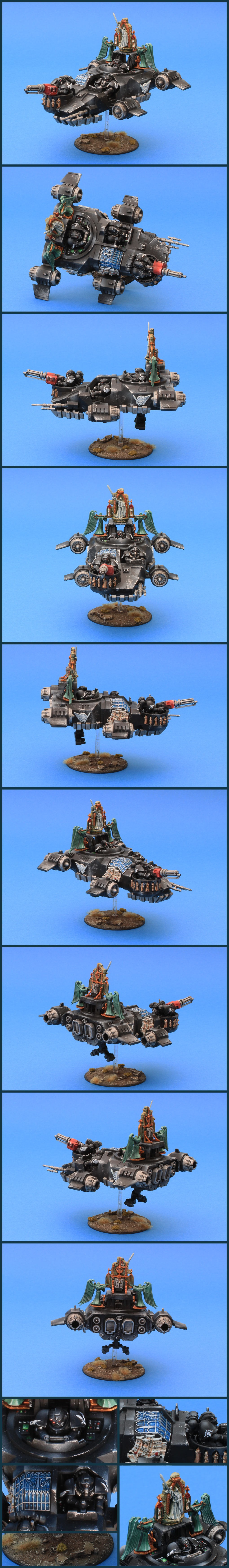 Dark Angels Ravenwing Land Speeder Darkshroud