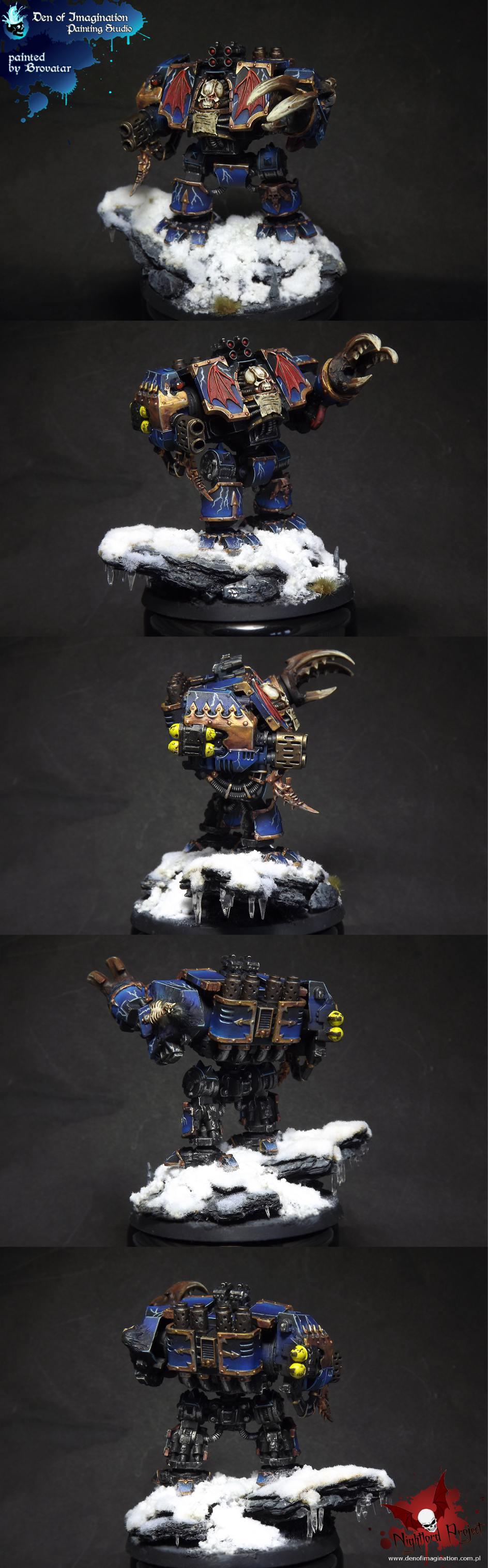 Chaos Space Marines Nightlord Dreadnought