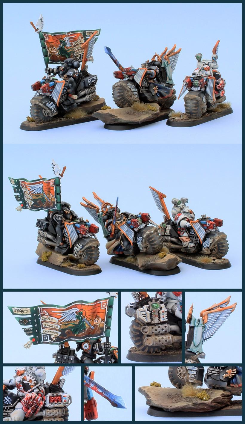 Dark Angels Ravenwing Command Squad