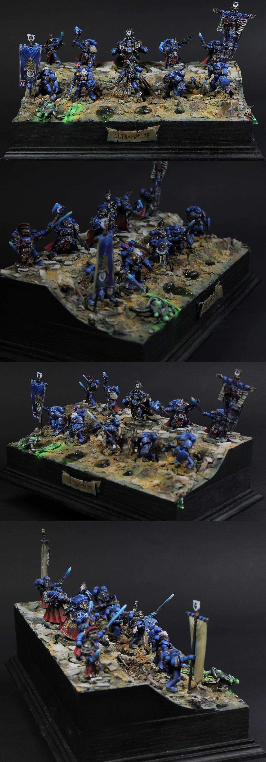 Ultramarines: Marneus Calgar, Honour Guard and Command Squad