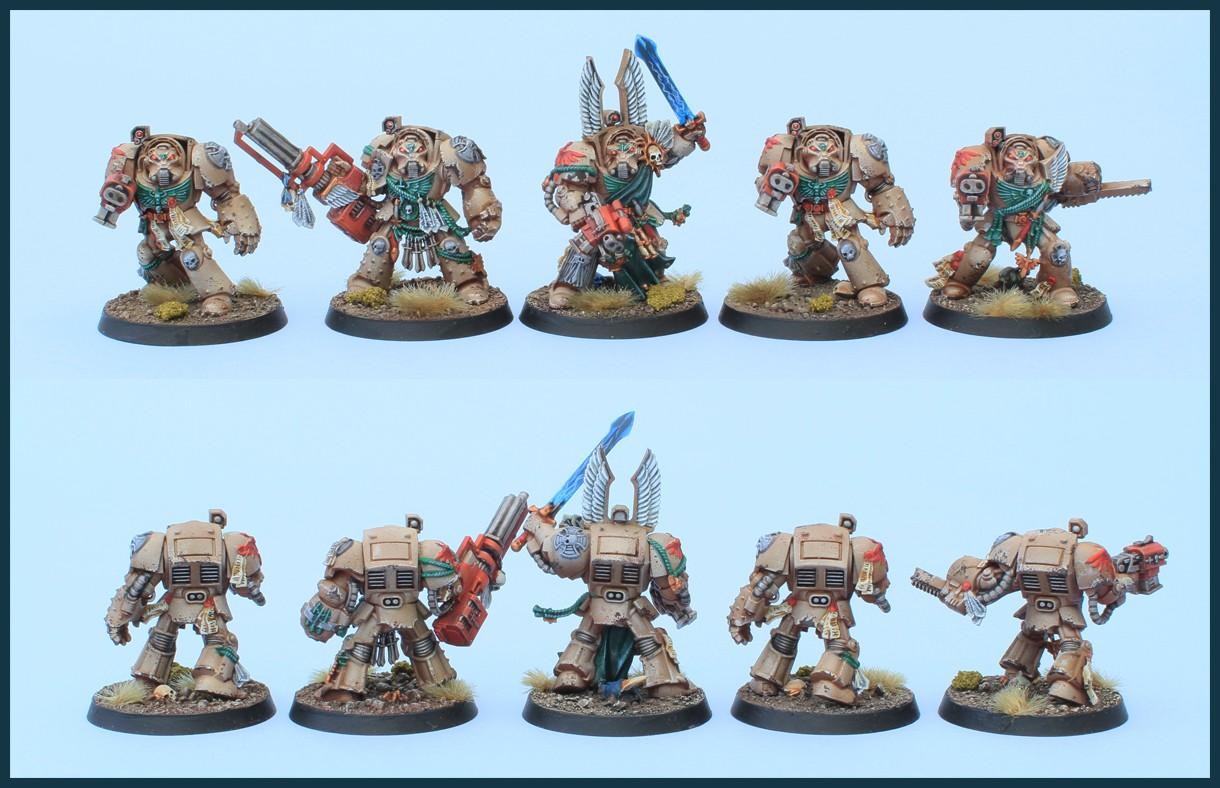 Dark Angels Deathwing Squad From Dark Vengeance