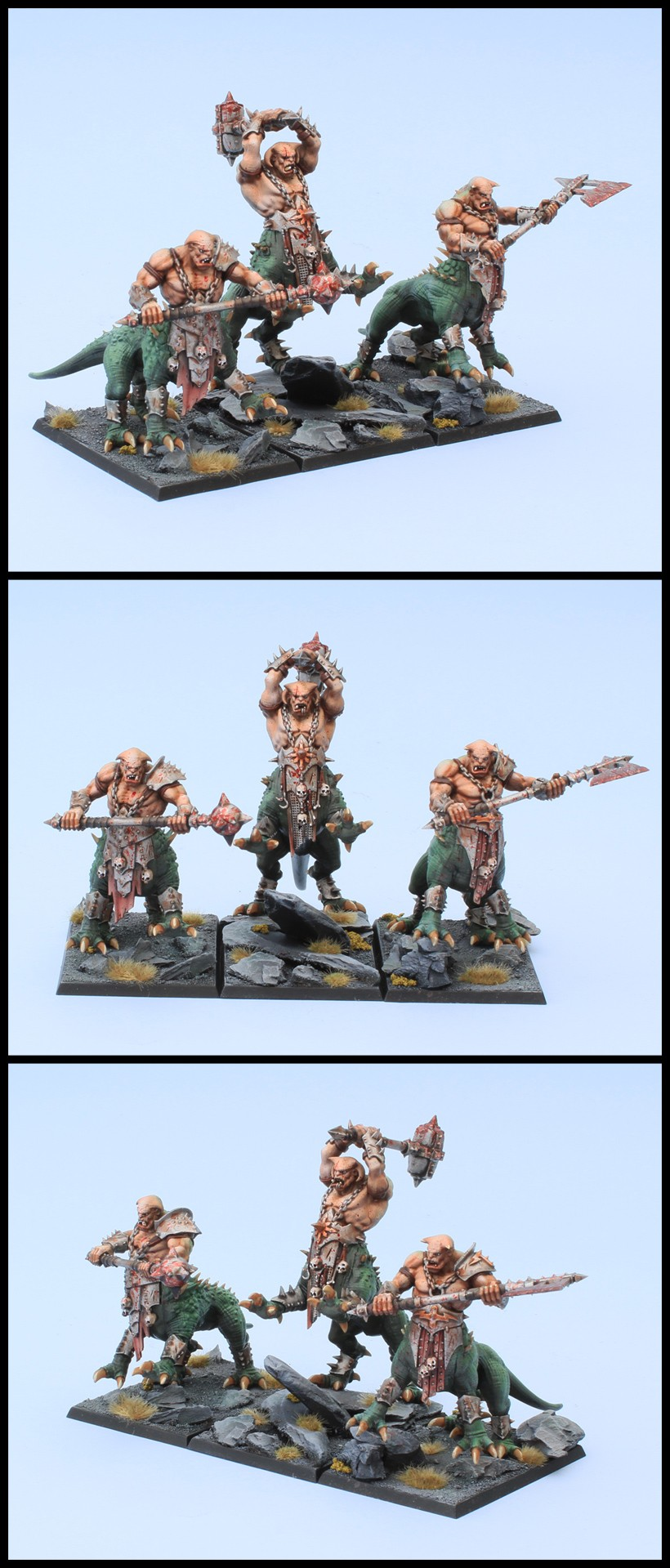 Warriors of Chaos - Dragon Ogres