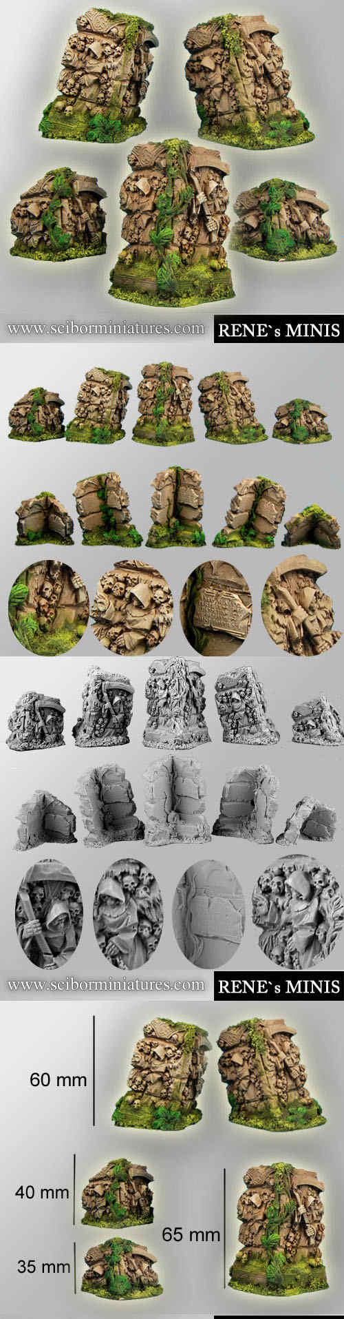 Angels Temple Ruins Terrain