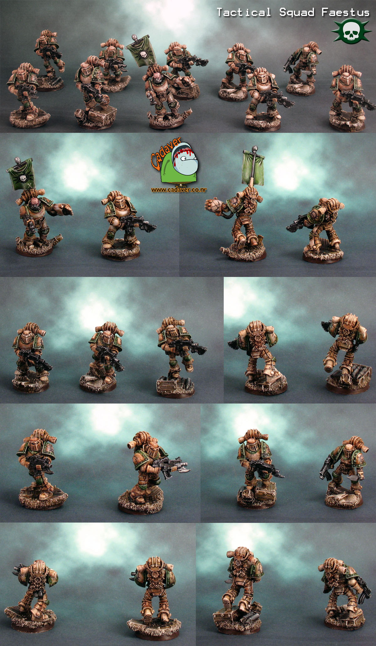 Pre Heresy Death Guard Tactical Squad