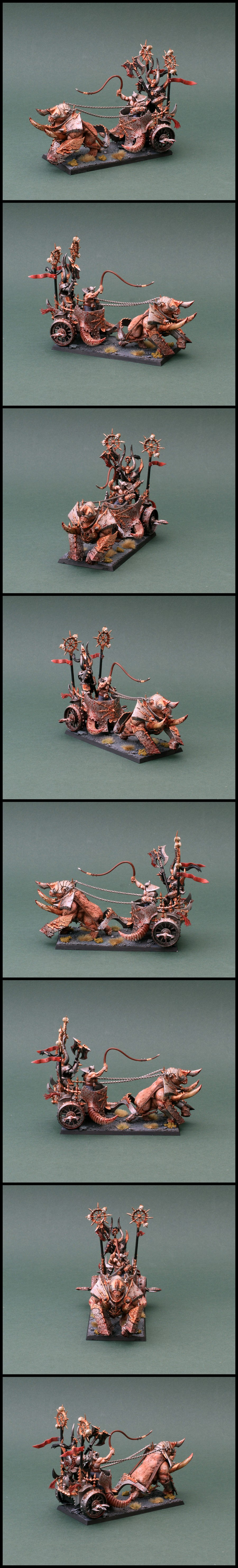 Warriors of Chaos - Gorebeast Chariot 2