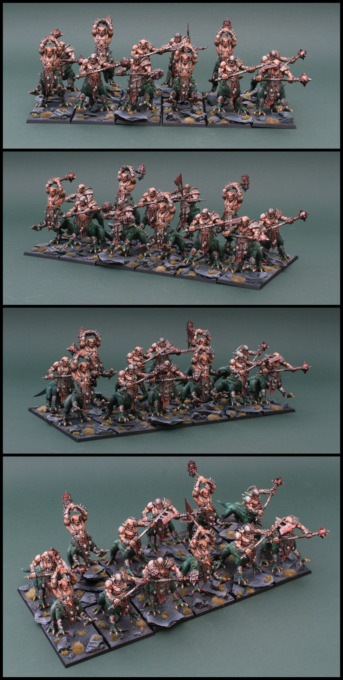 Dragon Ogres Linebreaker unit!