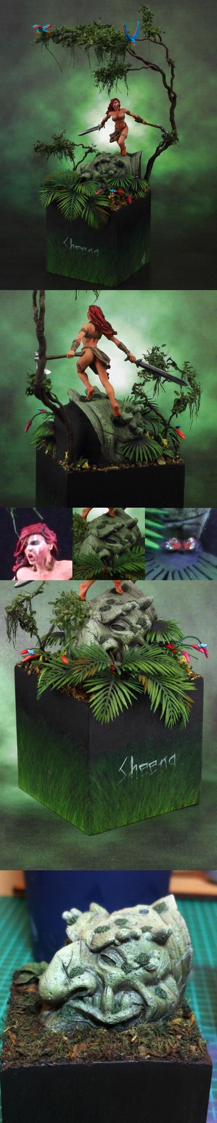 Sheena, The Jungle Princess