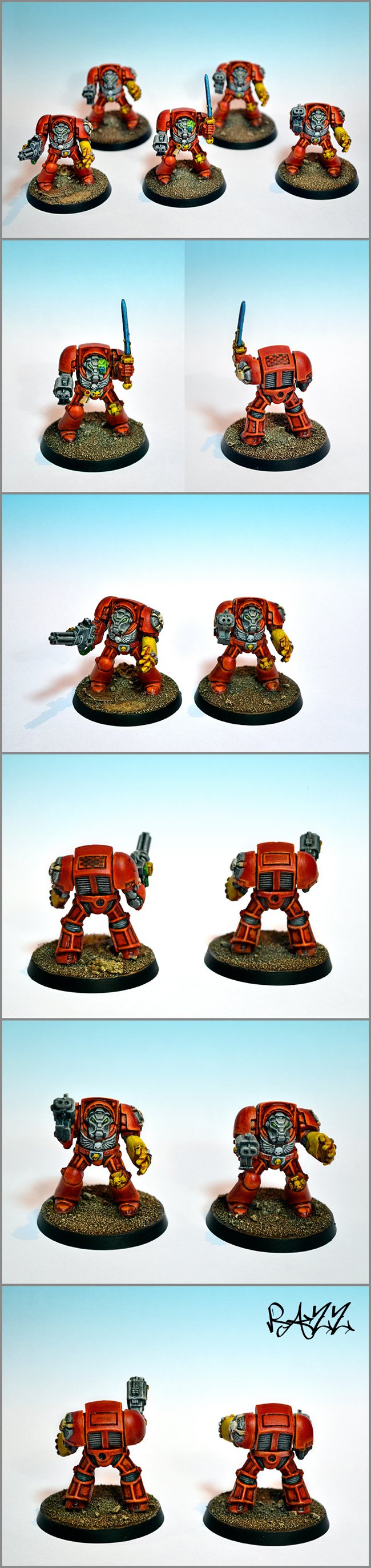 Warhammer 40k Blood Angels Terminators oop