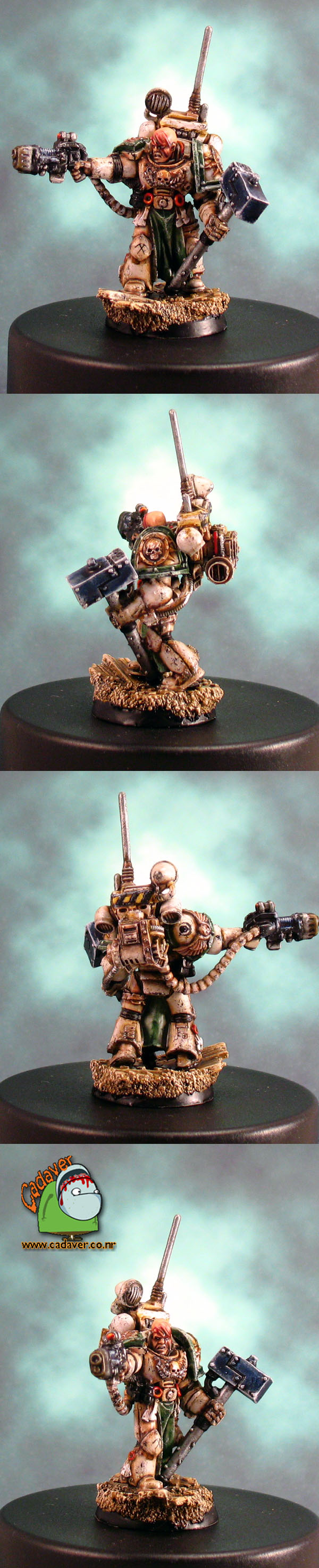 Death Guard Marshal Durak Rask