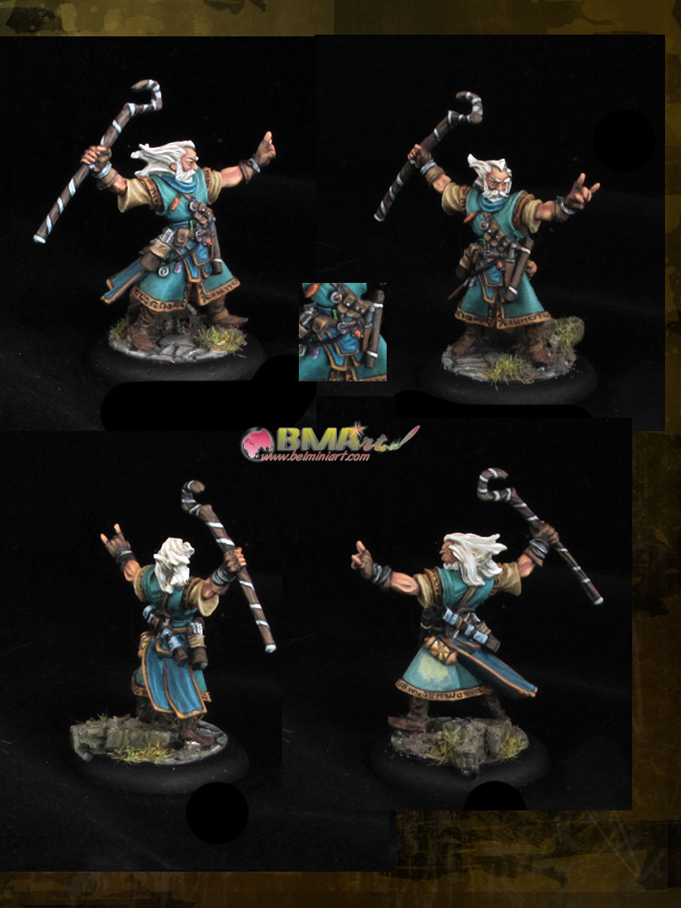 CoolMiniOrNot - Ezren,Iconic Male Human Wizard by belminiart