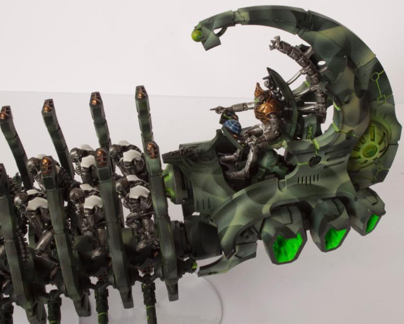Necron Doomsay Cannon Pilot